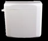 IT196519, WC-tartály, fehér - alsó elhelyezés - START/STOP gombbal