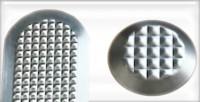 IT 0040 Rozsdamentes figyelmeztető jelzés - 3mm ragasztható változat
