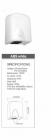 ITABS1500 Automata, szenzoros kézszárító közösségi helyiségekbe