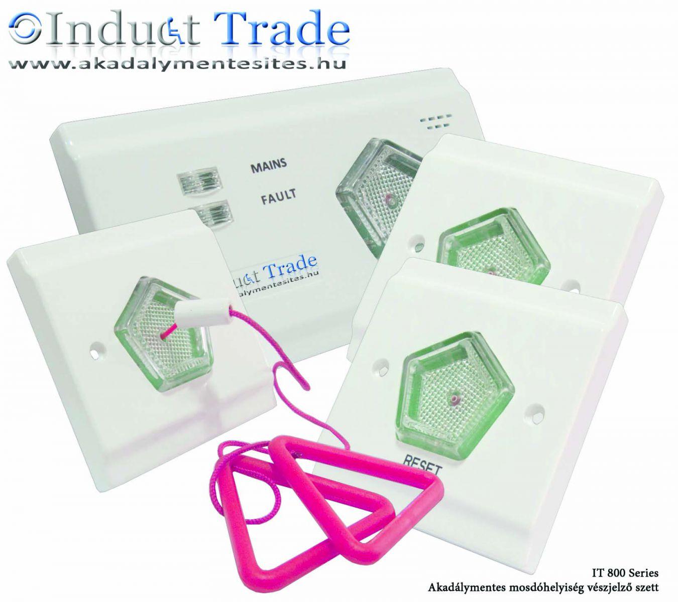 IT800Series - Mozgáskorlátozott WC vészjelző