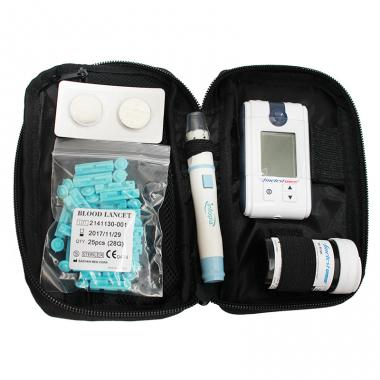 Blood glucose measuring